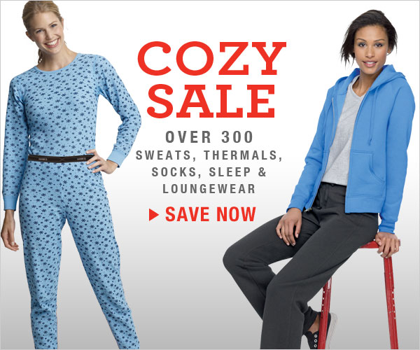 Shop Cozy Sale