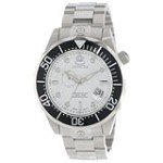 Invicta 13696 Men's Grand Diver White Dial Steel Bracelet Dive Automatic Watch