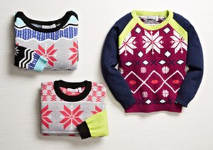 Shae Girls: Holiday Sweaters