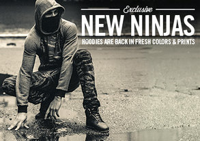 Shop Exclusive New Ninjas: ARSNL Hoodies