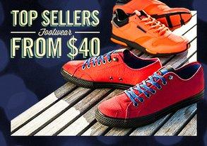 Shop Top Sellers: Footwear from $40