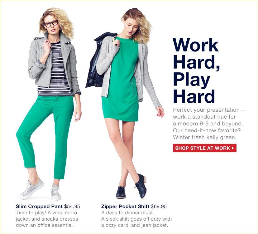 Work Hard, Play Hard | SHOP STYLE AT WORK