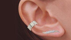 JJ Orogem Swarovski Ear Pins