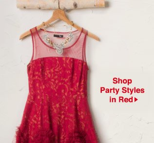 Shop Party Styles in Red