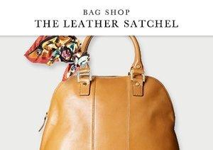 Bag Shop: The Leather Satchel
