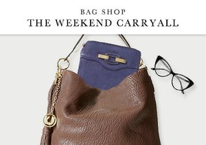 Bag Shop: The Weekend Carryall