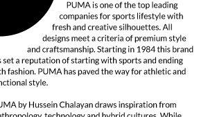 Introducing PUMA