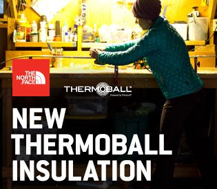 The North Face Thermoball Insulation