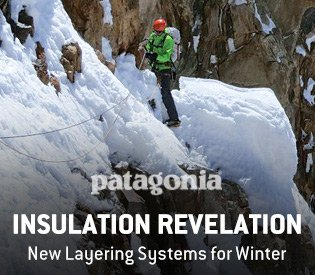 Patagonia: New Layering Systems