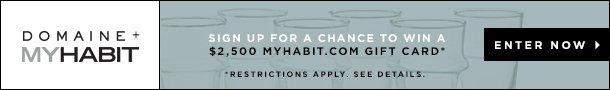 Win $2500 MyHabit Gift Card. Enter Now.