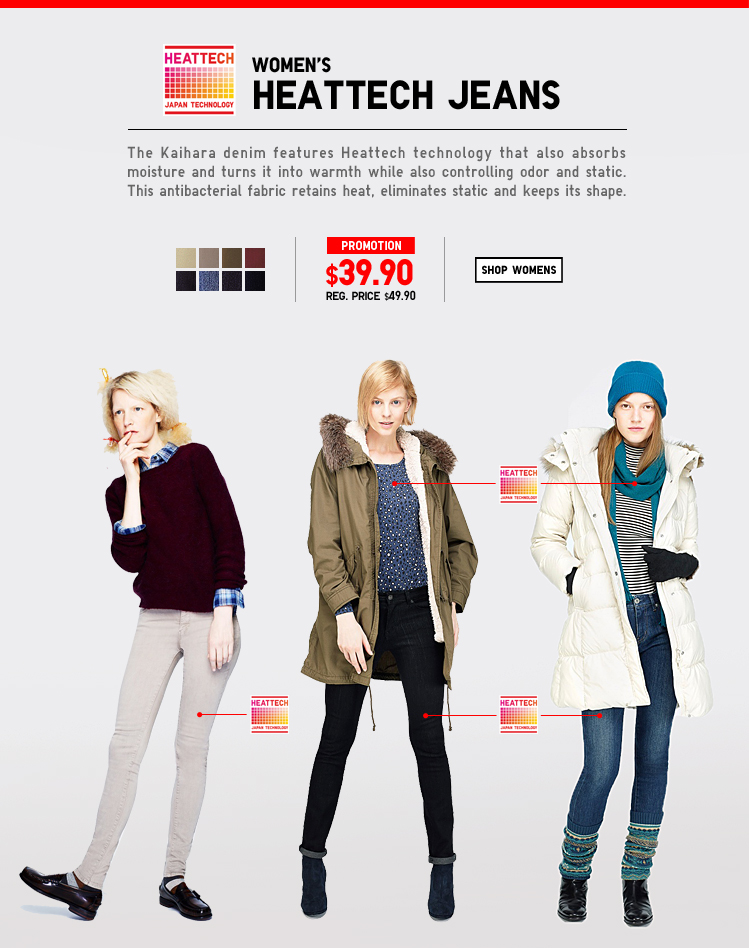 Women's Heattech Jeans