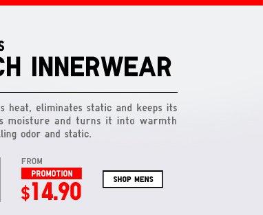Shop Men's Heattech Innerwear