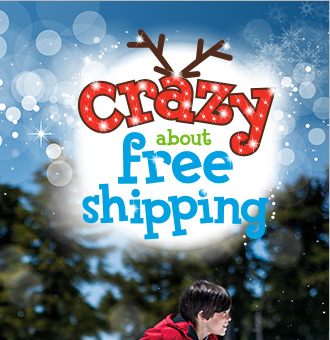 Today only: Free shipping no min!