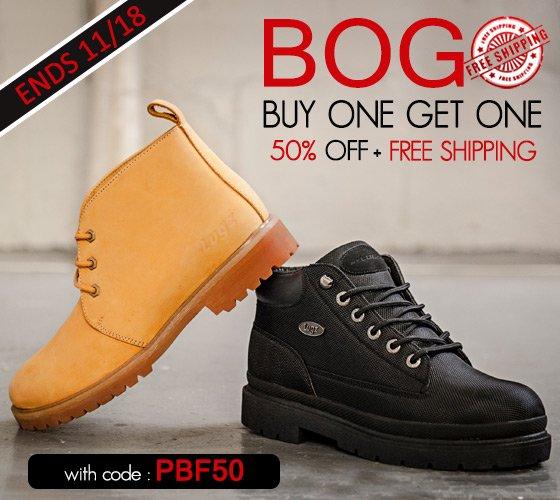 Pre Black Friday BOGO+ Free Shipping