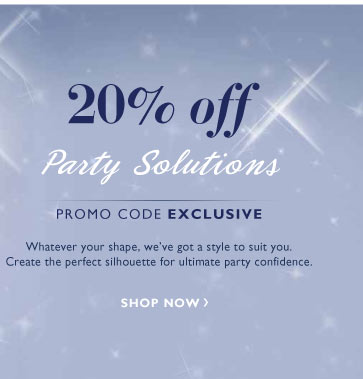 20% Off Party Solutions