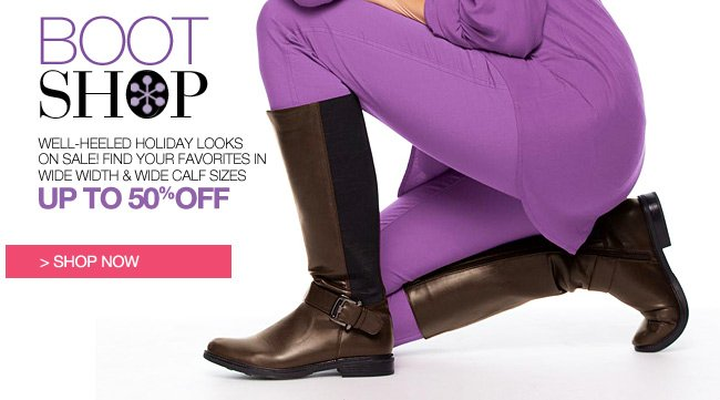 Shop Boot Shop, Up to 50% off