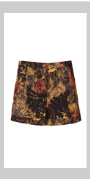 Multi Fern Print Shorts