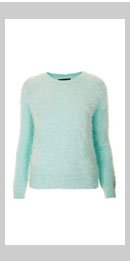 Knitted Lashes Crew Jumper