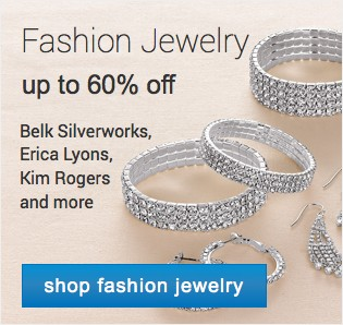 Fashion Jewelry up to 60% off. Shop fashion jewelry.