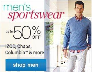 Men's Sportswear up to 50% off. Shop men.