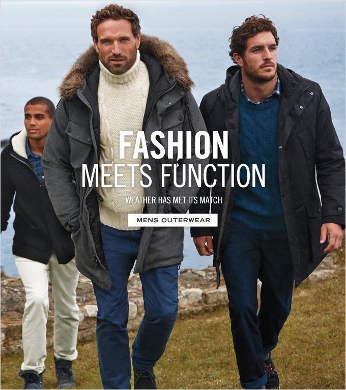 Fashion Meets Function. Shop Men's Outerwear