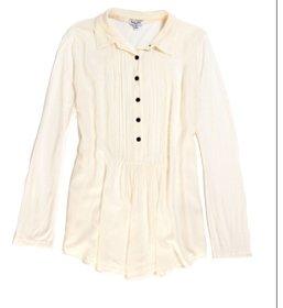 Pleated Woven Tunic