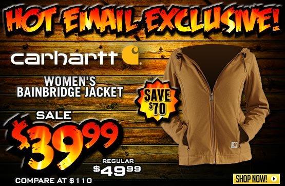 Women's Carhartt® Bainbridge Hooded Jacket