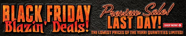Sportsman's Guide's Black Friday Preview Deals, Blazin' Deals! Last Day...