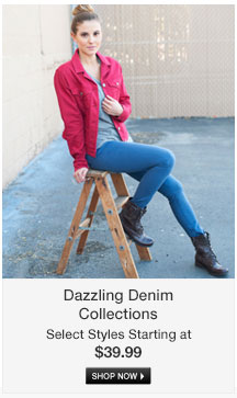 Dazzling Denim Collections