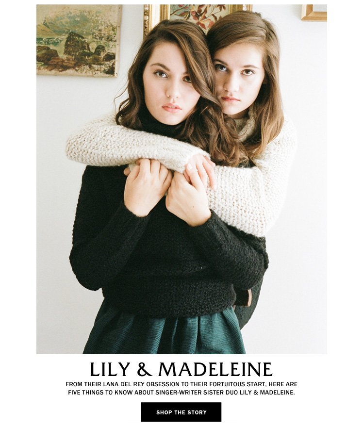 Lily and Madeleine