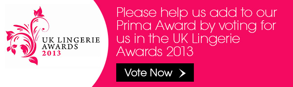 We Need You! Please vote for us in the UK Lingerie Awards 2013