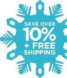 SAVE OVER 10% + FREE SHIPPING