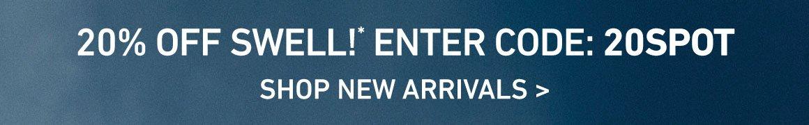 20% Off New! Enter Code: 20SPOT