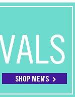 New Arrivals! Shop Men's