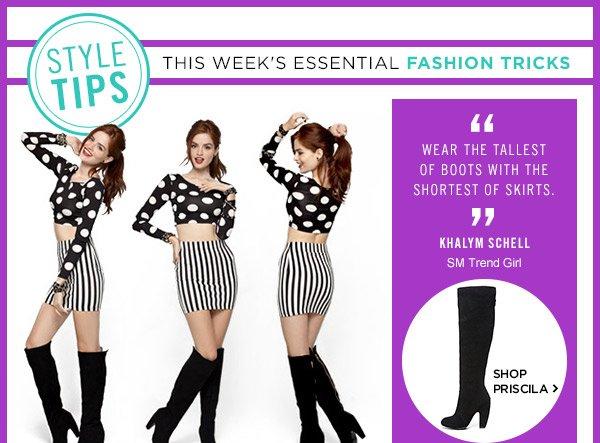 Style Tips! Shop Priscila