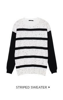 Mini Splatter Dot Pullover