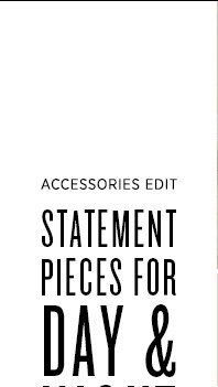 Update your look with our edit of the season's best statement jewelry. >>