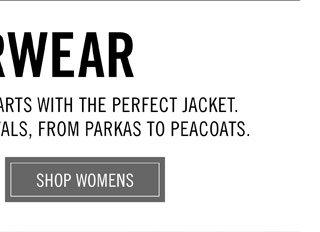 Outerwear - Shop Womens