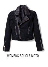 Womens Boucle Moto