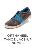 ORTHAHEEL TAHOE LACE-UP SHOE