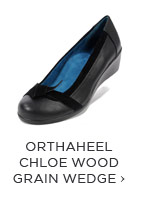 ORTHAHEEL CHLOE WOOD GRAIN WEDGE