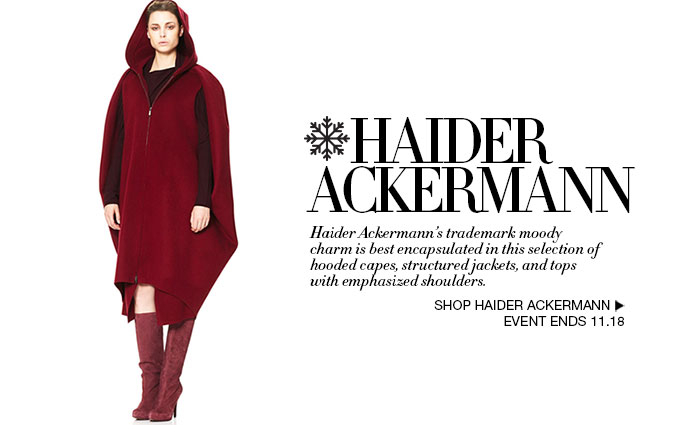 Shop Haider Ackermann