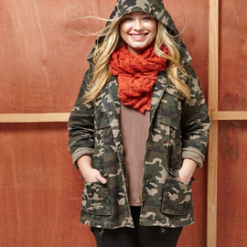 Military Chic: Plus-Size Apparel