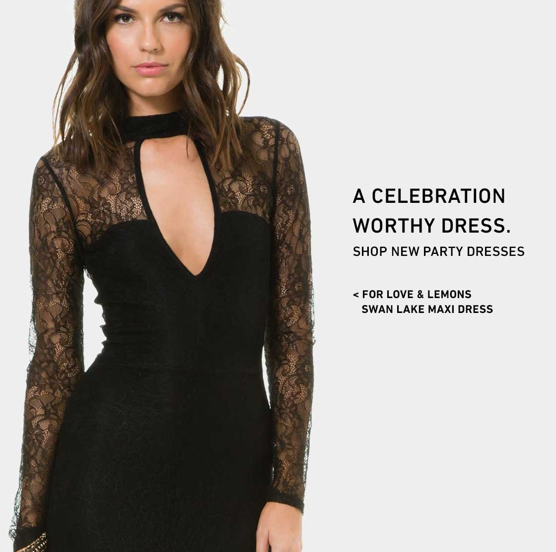 Shop New Party Dresses