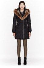 MACKAGE Black Fur & Down Trish F3 coat for women