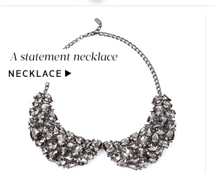 Add a little glamour: Shop Necklace