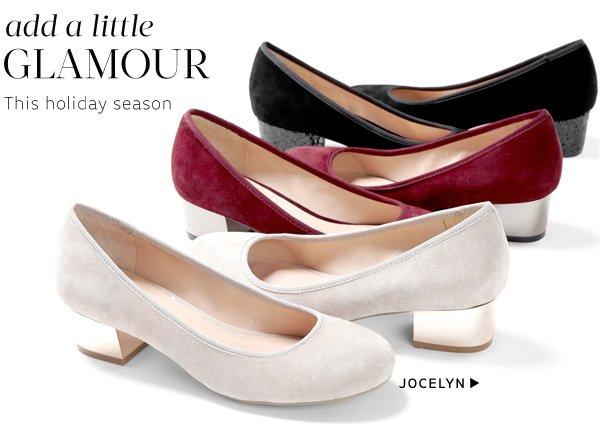 Add a little glamour: Shop Jocelyn