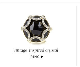 Add a little glamour: Shop Ring