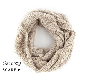 Add a little glamour: Shop Scarf