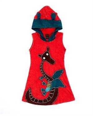 Rising International Girl's Hooded Dragon Dress